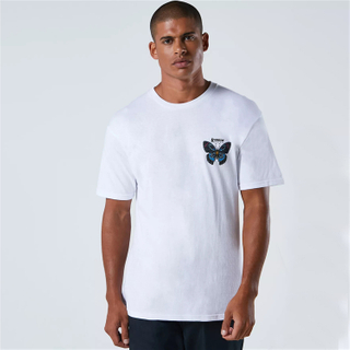 Custom High Quality Streetwear Butterfly Screen Printed T Shirt Men