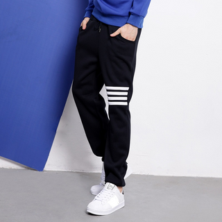 Low MOQ Track Pants Cotton Fleece Jogger Pants Men Sweatpants